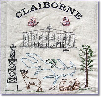 Claiborne Parish Quilt Square
