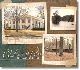 Brochures and the Two Disc Driving CD available at several area locations - Click to Visit ClaiborneParishTourism.org